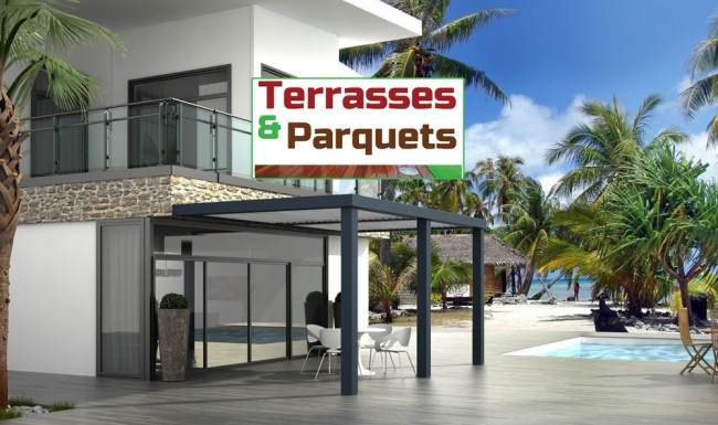 pergola bioclimatique la baule gu rande saint nazaire terrasses parquets r novation. Black Bedroom Furniture Sets. Home Design Ideas